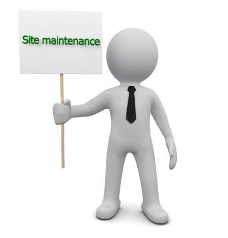 Site maintenance by Online Studia